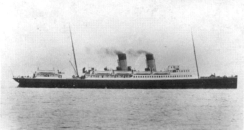 One of Holyhead's mailboat steamers