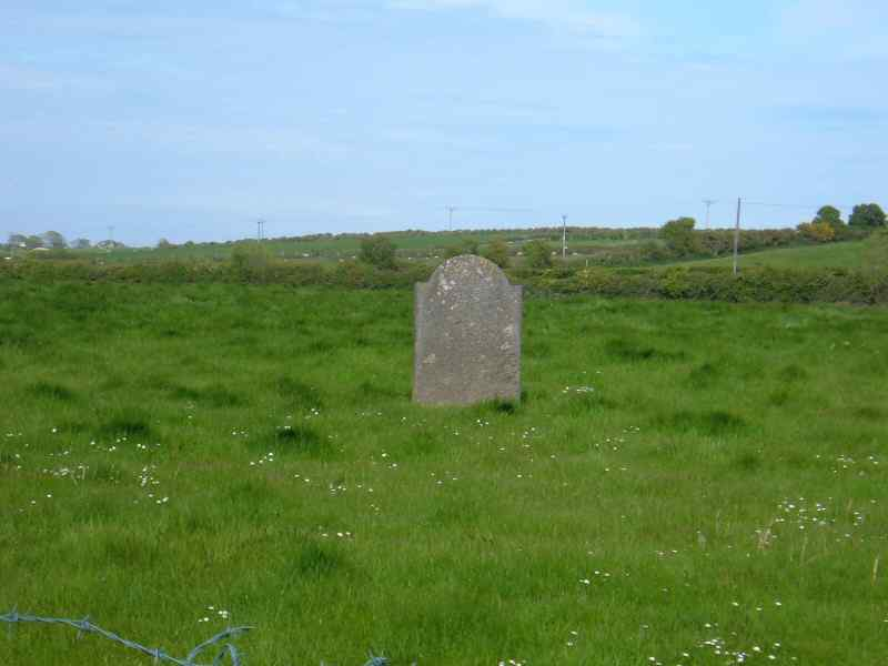 Llanllibio Church - all that remains is a memorial