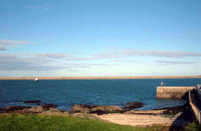 Holyhead, Newry and Mackenzie Pier and the Breakwater