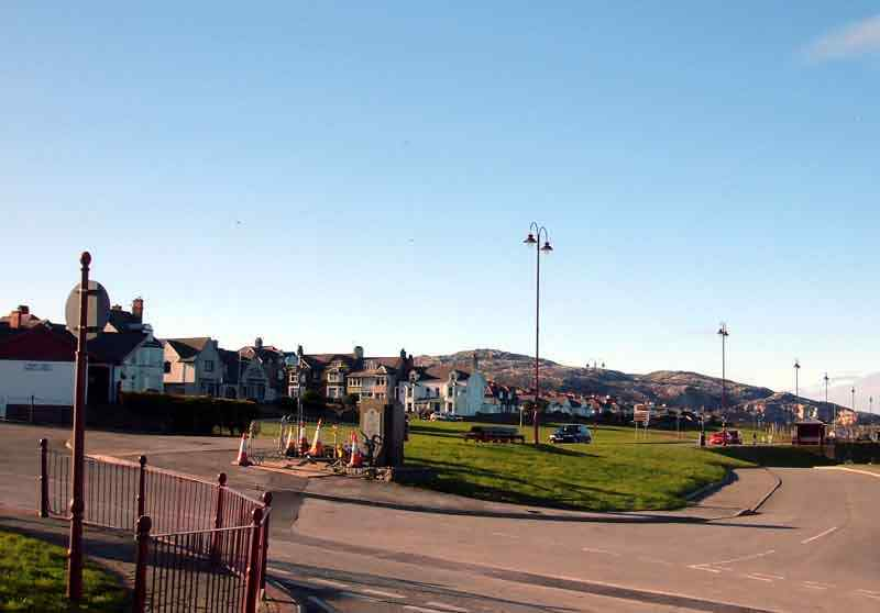 Holyhead, Newry looking towards the Mountain