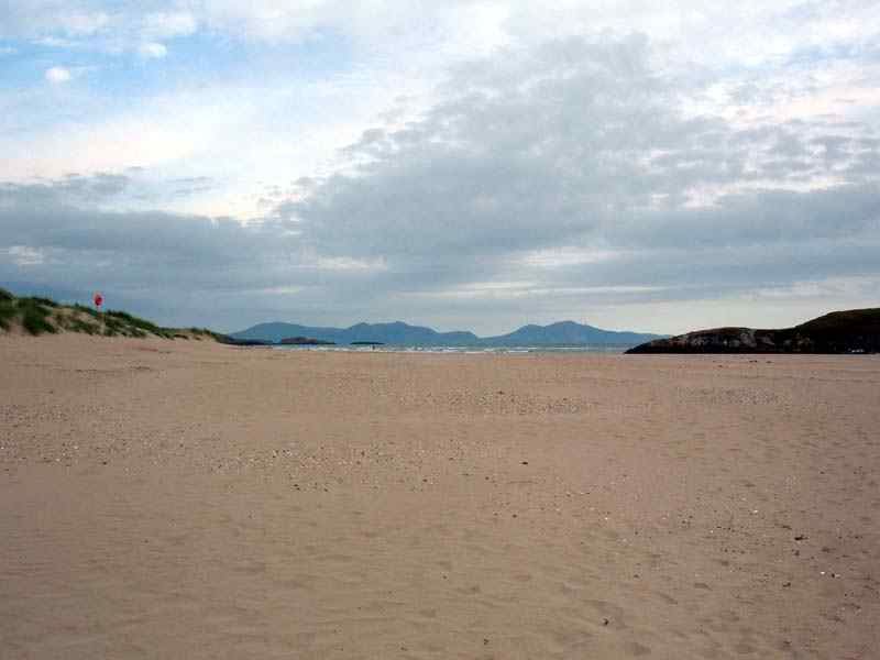 Aberffraw Beach giving an indication of the size