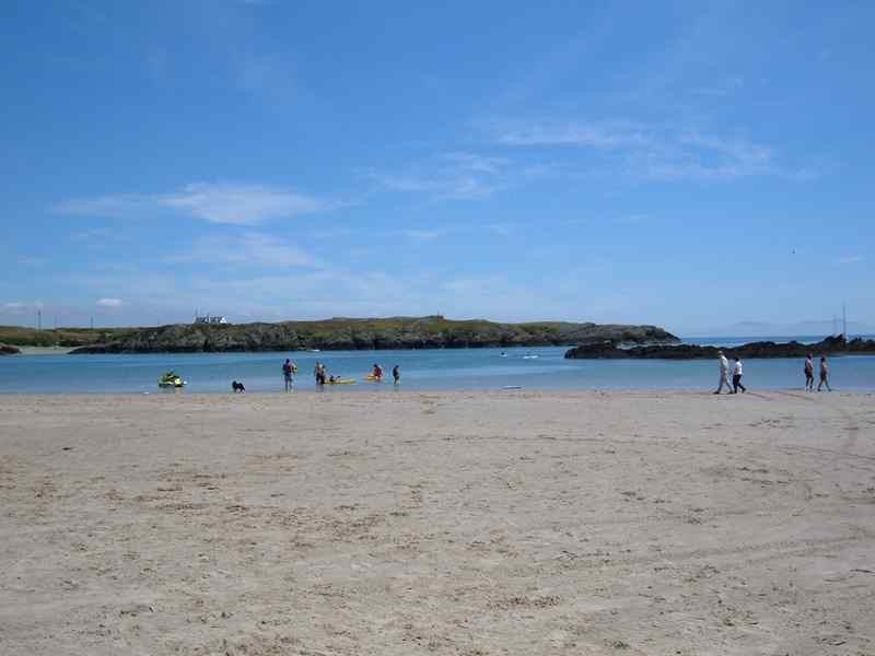 Rhoscolyn beach on Anglesey