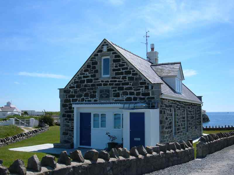 Rhoscolyn Lifeboat House - built in 1877