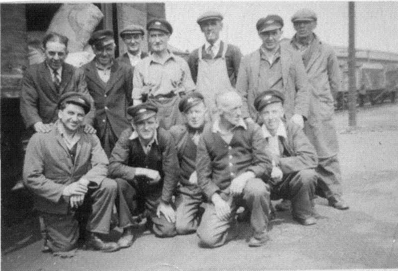 British Rail workers
