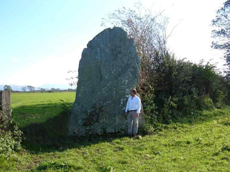 Bryn Gwyn Standing Stones - Height Gauge