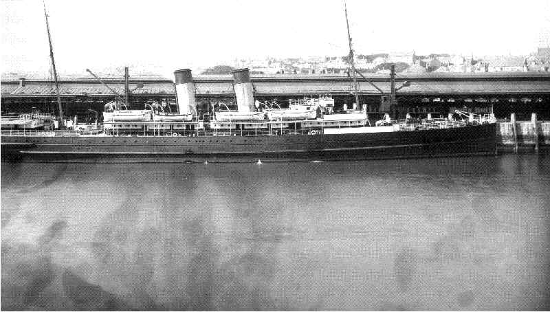 The S.S. Anglia in 1905