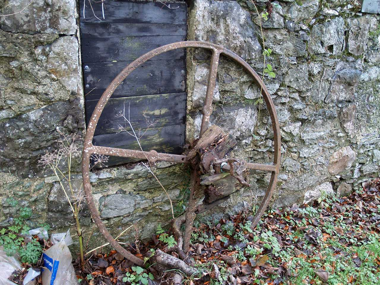 Anglesey, Llangefni Water Mill - Metal Wheel