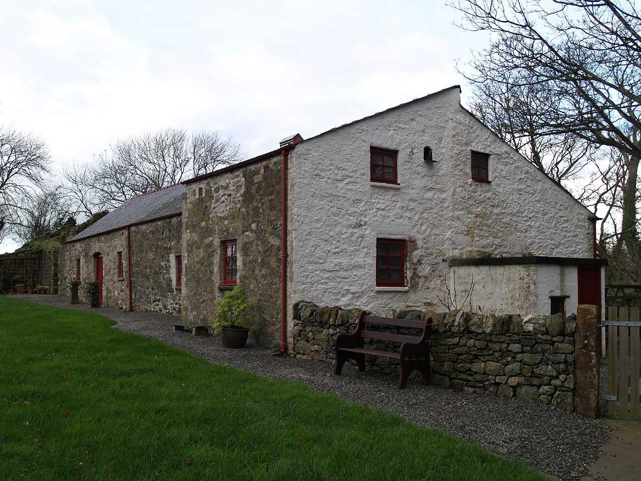 Anglesey, Llangefni Water Mill - Outbuildings