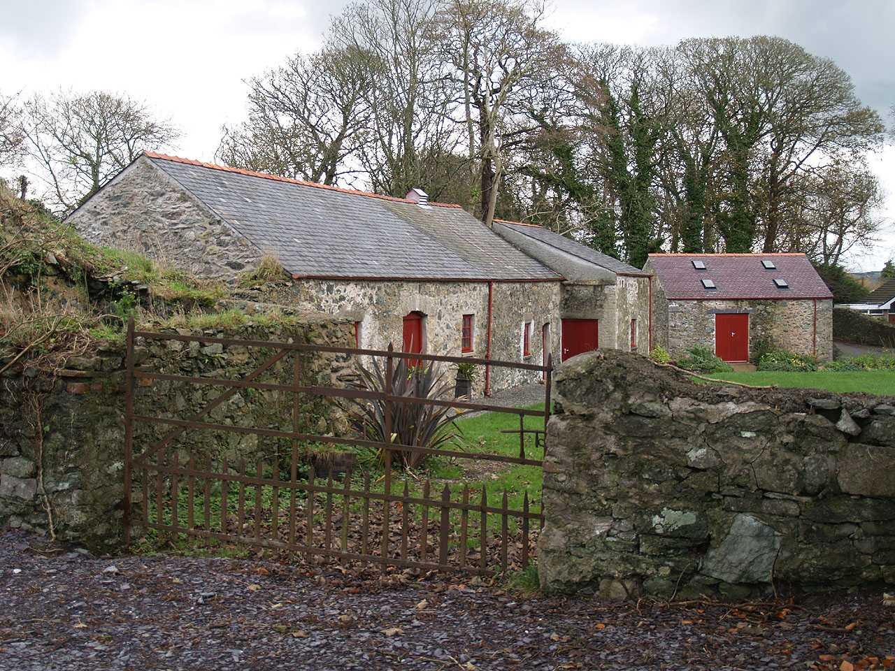 Anglesey, Llangefni Water Mill Gate and Outbuildings