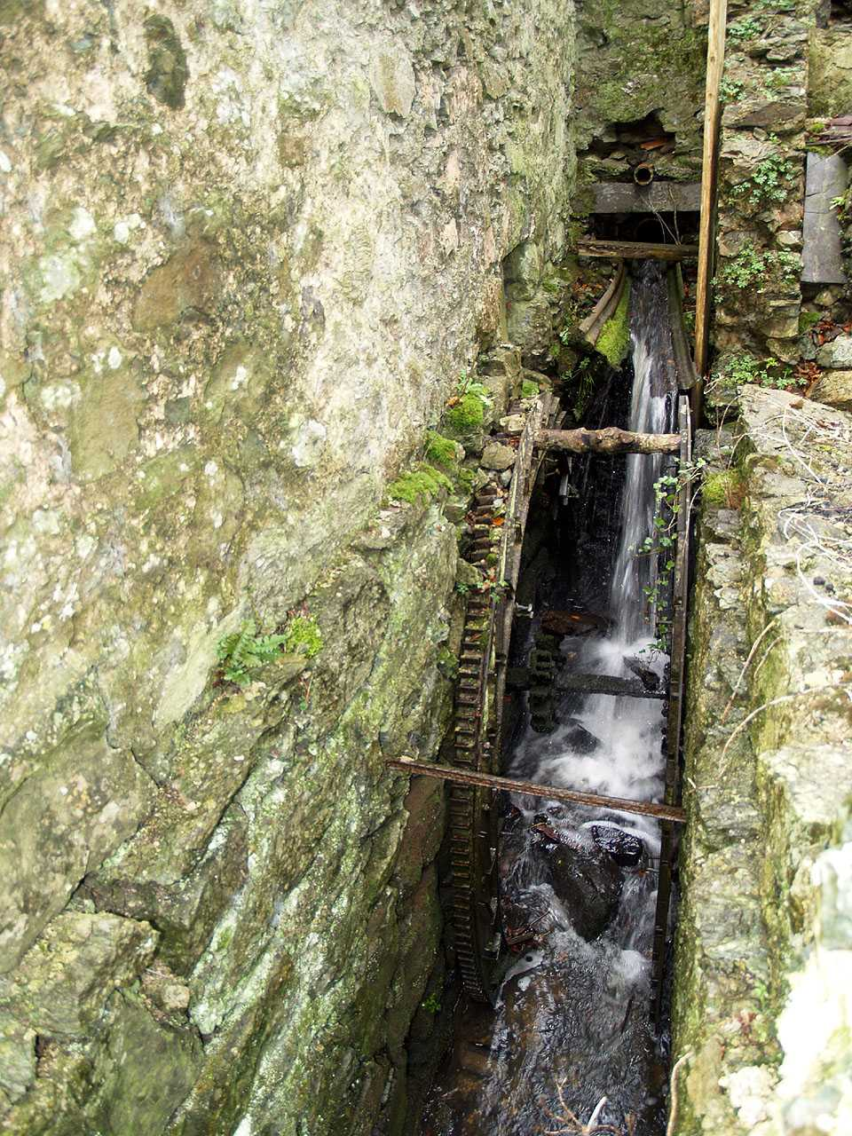 Anglesey, Llangefni Water Mill Wheel and Water