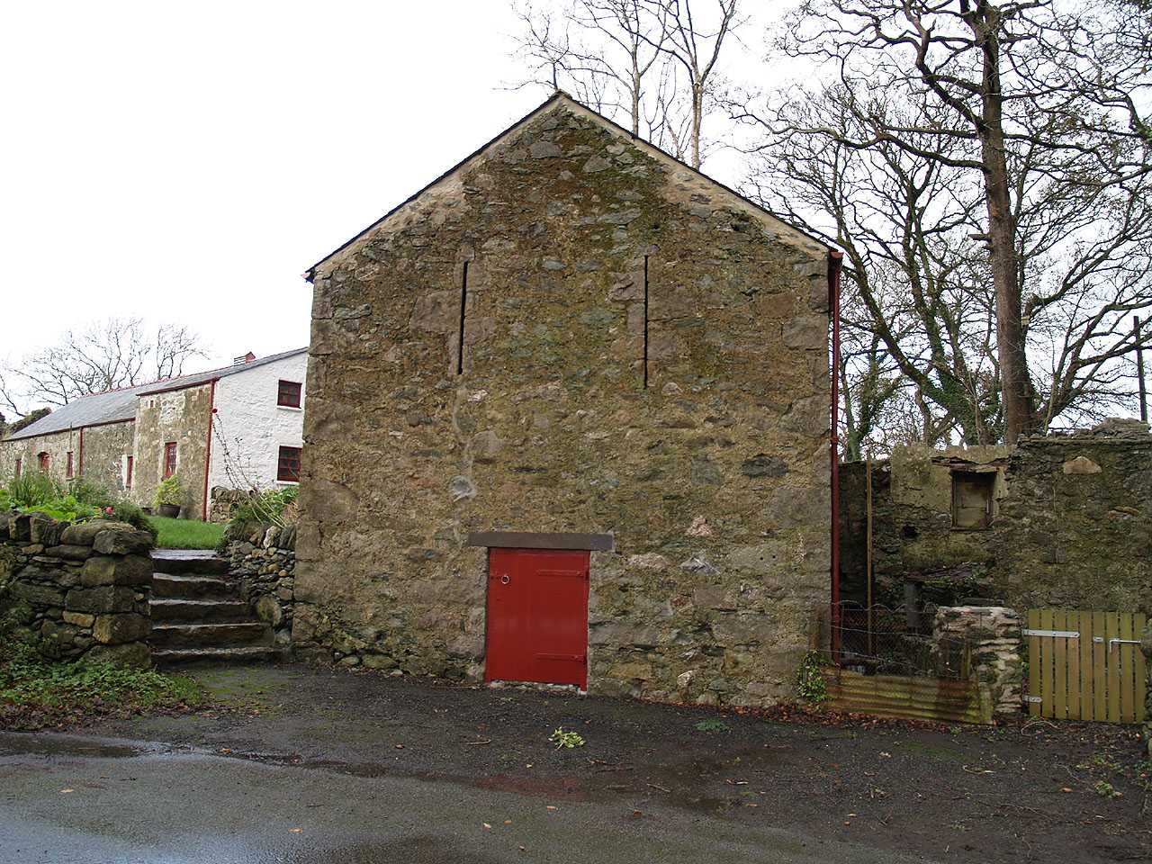 Anglesey, Llangefni Water Mill on Lon Fron