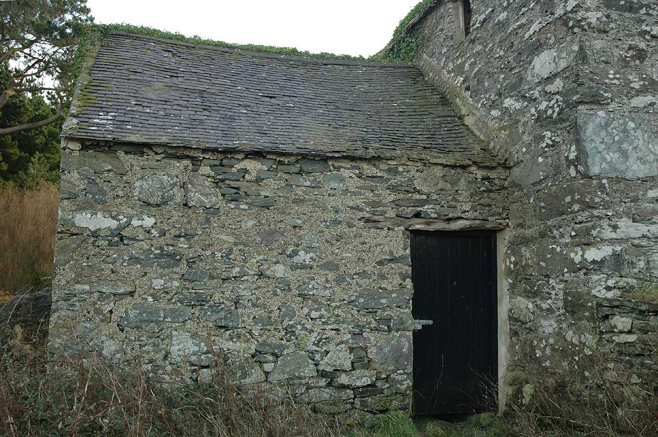 Cemlyn, Felin Cafnan Water Mill - The attached Store