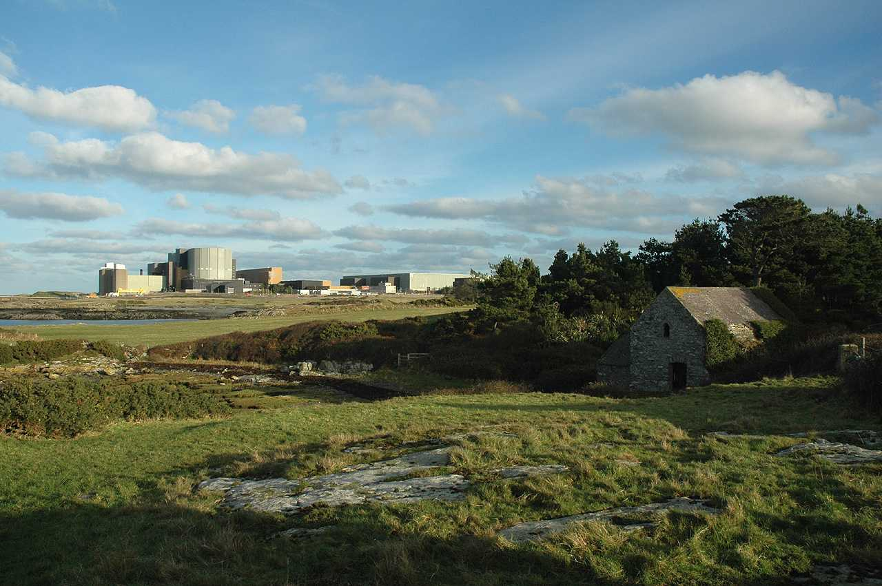 Cemlyn, Felin Cafnan and Wylfa Nuclear Power Station
