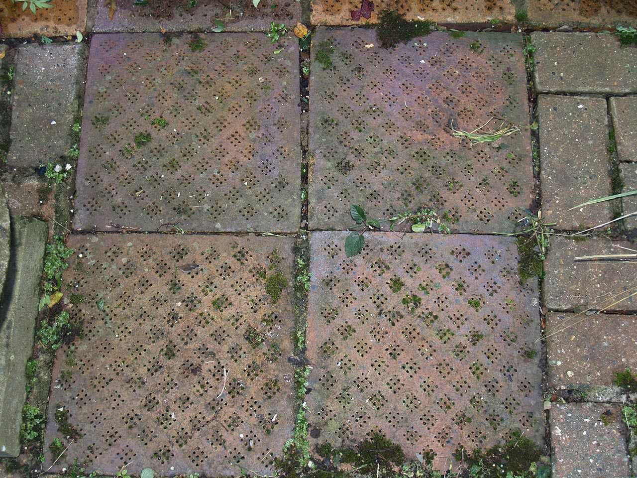 City Dulas, Felin Dulas Watermill - Kiln Tiles reused outside