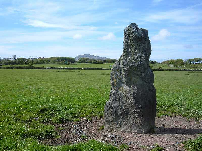 Holyhead, Kingsland Mill from Ty Mawr Standing Stone