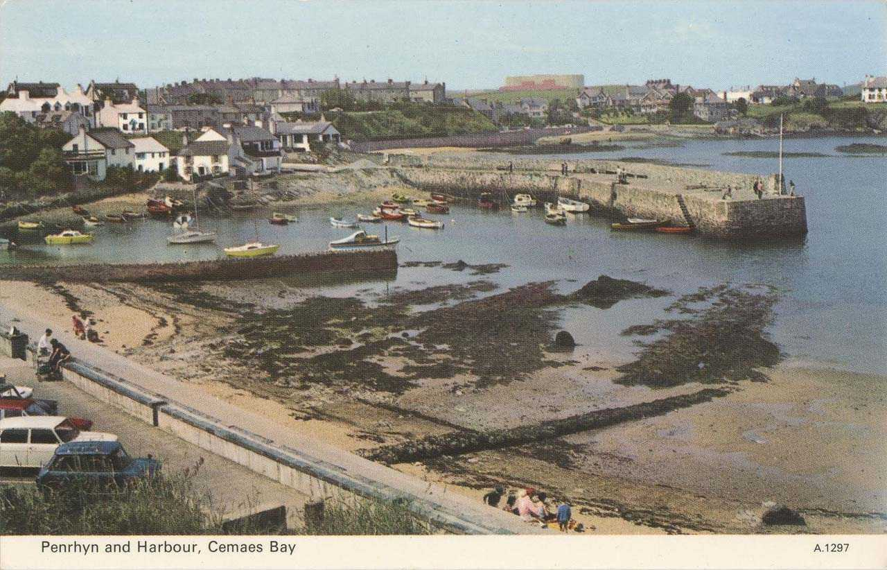 Anglesey, Cemaes Bay, Penrhyn and Harbour 1970's