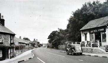 Gronant, an old photo of Mostyn Road