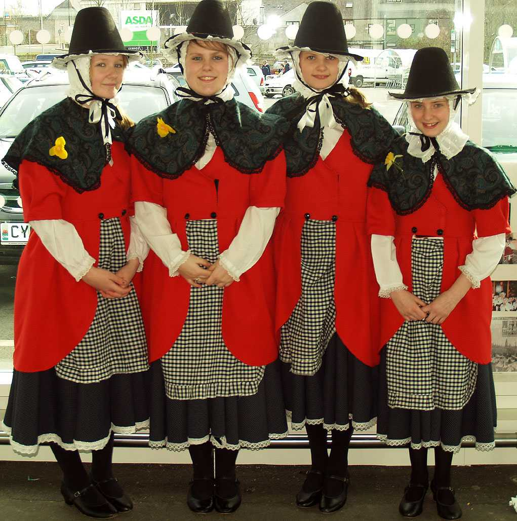Llangefni, St David's Day, Welsh Lasses