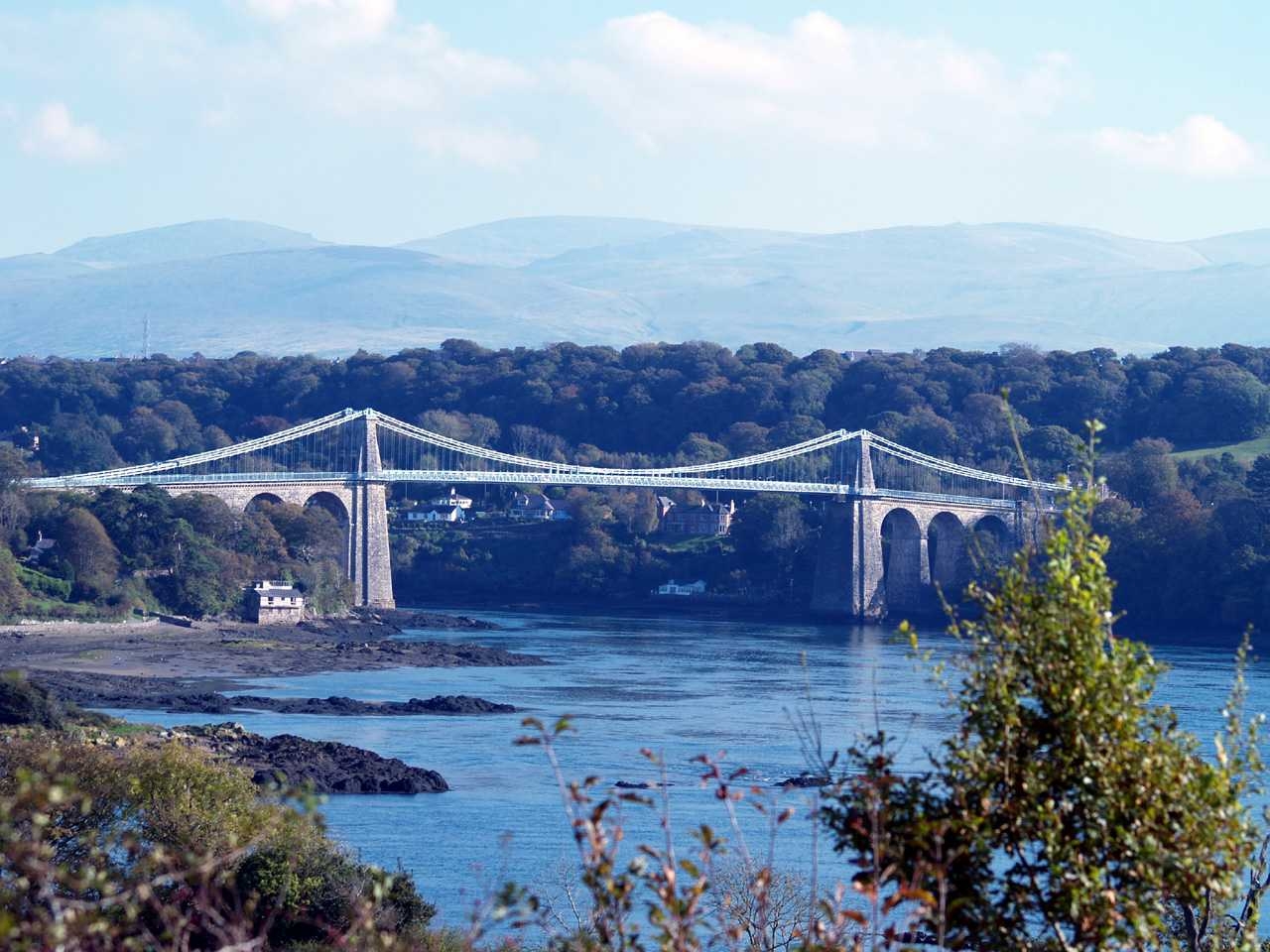 Thomas Telford's Suspension Bridge