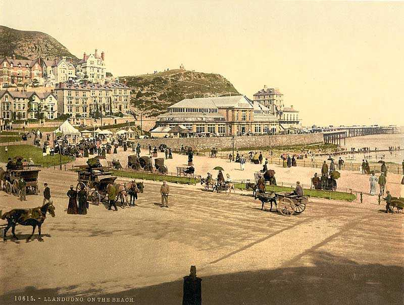 llandudno on the beach