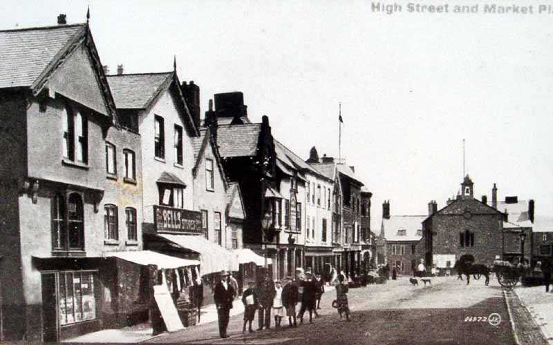 cilcain high street and market place