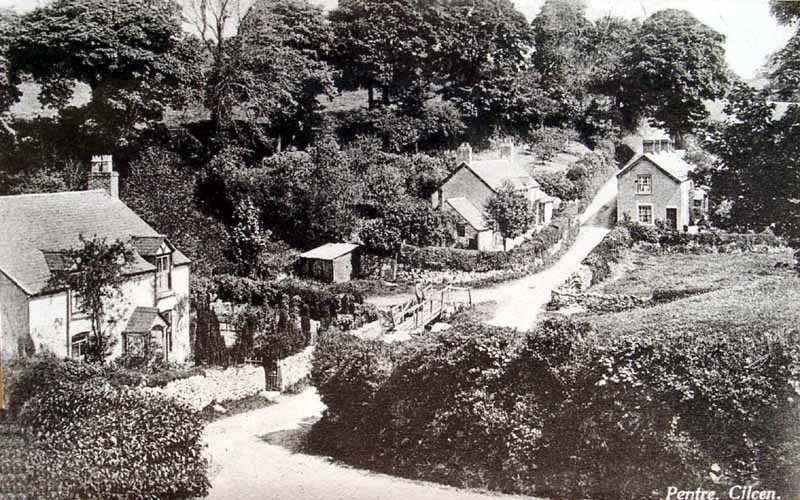 cilcain pentre old photo