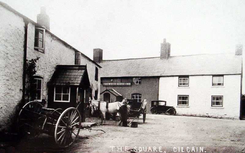 cilcain square and white horse inn