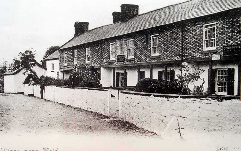 cilcain village an early picture