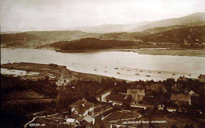 deganwy and conwy in 1926