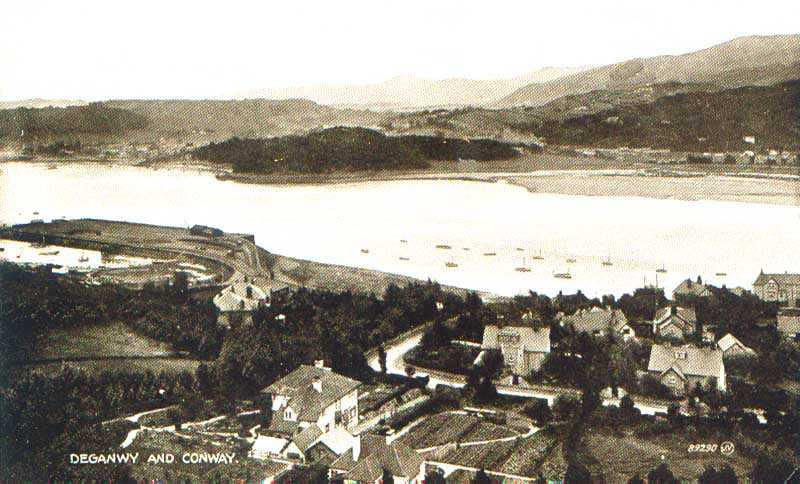 deganwy and conwy in the 1940's