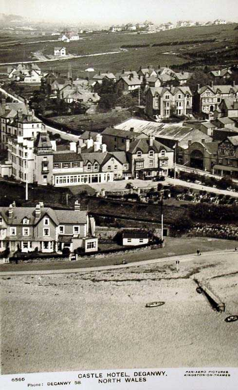 deganwy castle hotel old photo