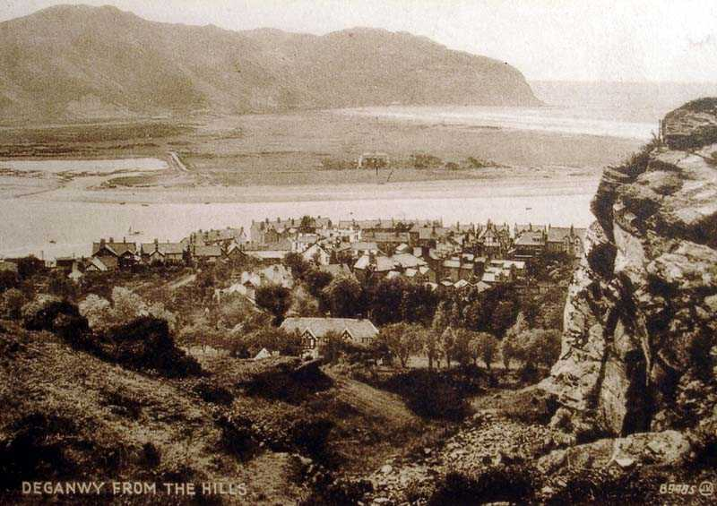 deganwy from the hills in 1931