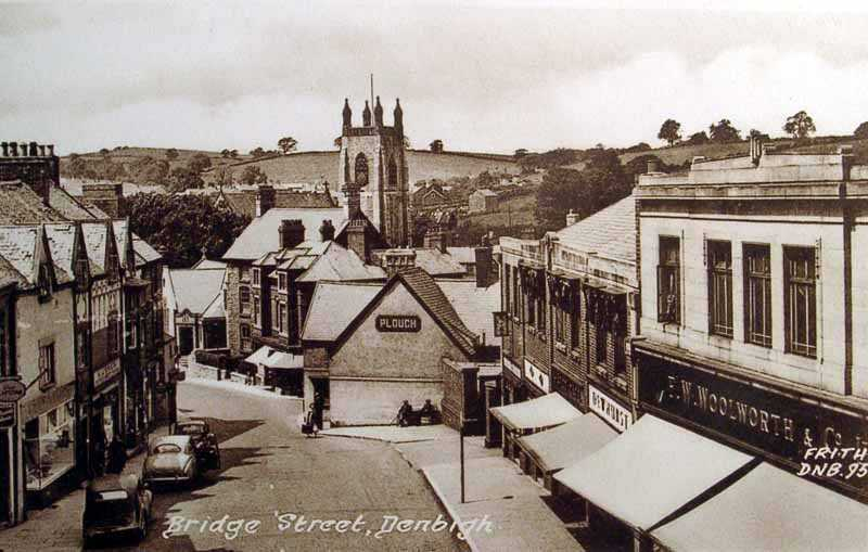 denbigh bridge street old photo