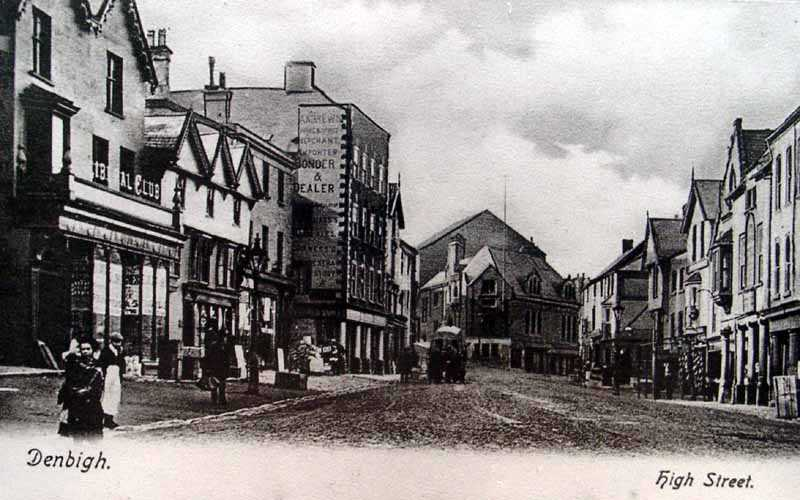 denbigh high street old picture