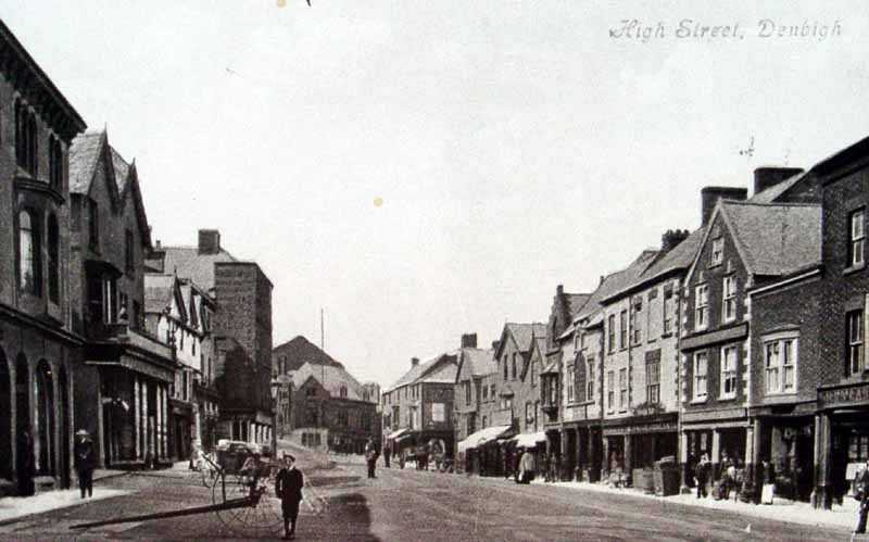 denbigh high street vintage photo