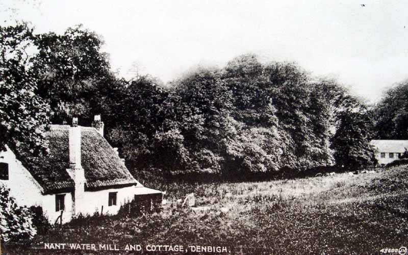 denbigh nant water mill and cottage