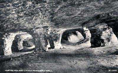 Holywell Holway Caves home of the Bouncing Bomb