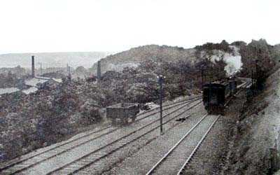 Holywell LNWR Railway old photo