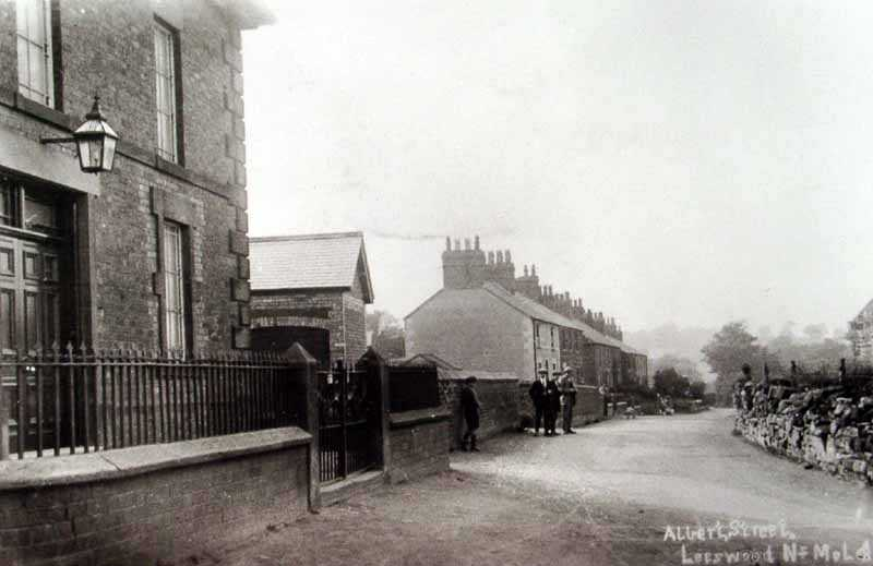 leeswood albert street an early image