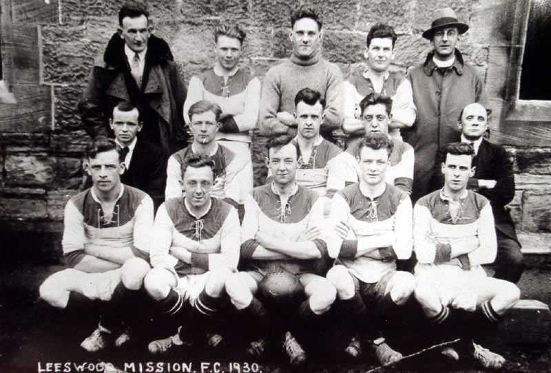 leeswood mission f.c.  in 1930