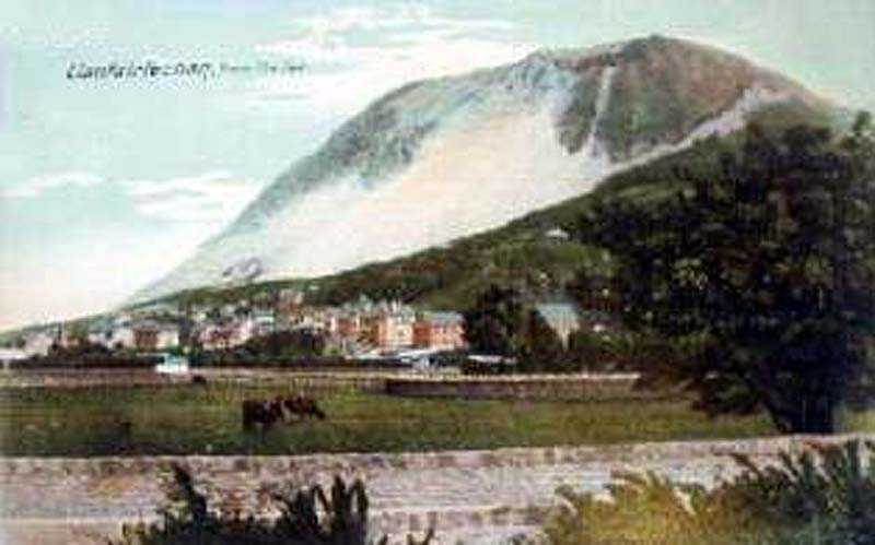 llanfairfechan from the sea in the 1900's