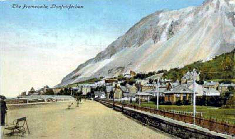 llanfairfechan promenade in the 1910's