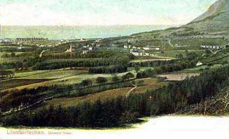 llanfairfechan, general view in the 1900's