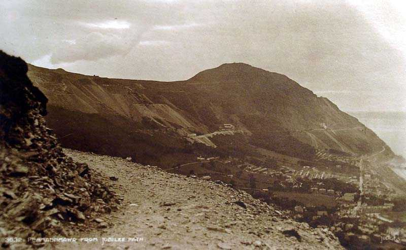 penmaenmawr, from jubilee path in 1932