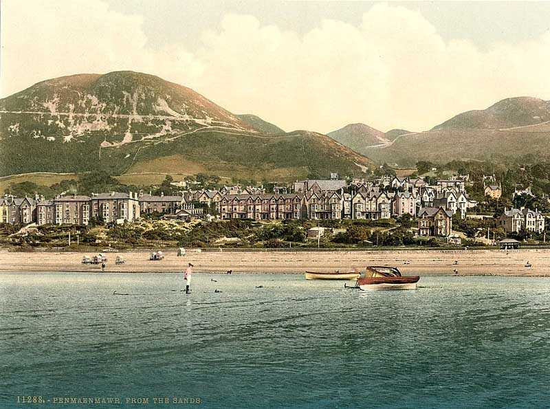 penmaenmawr, from the sands