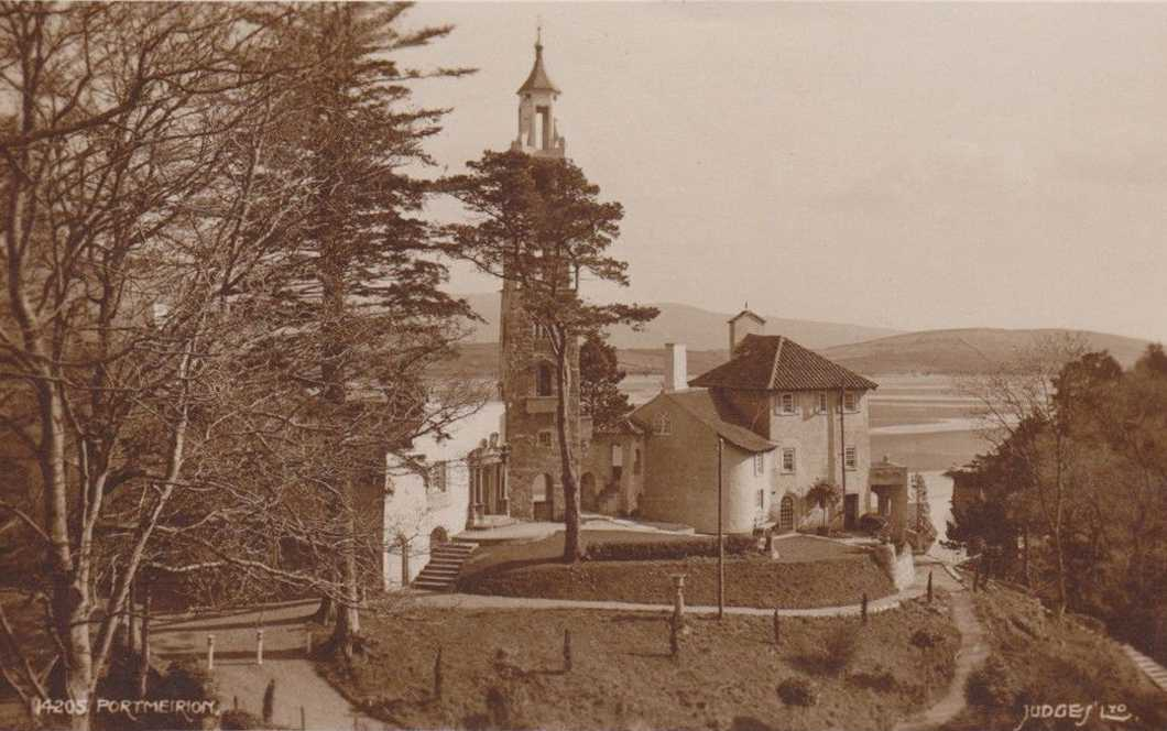 porthmeirion in the 1930's
