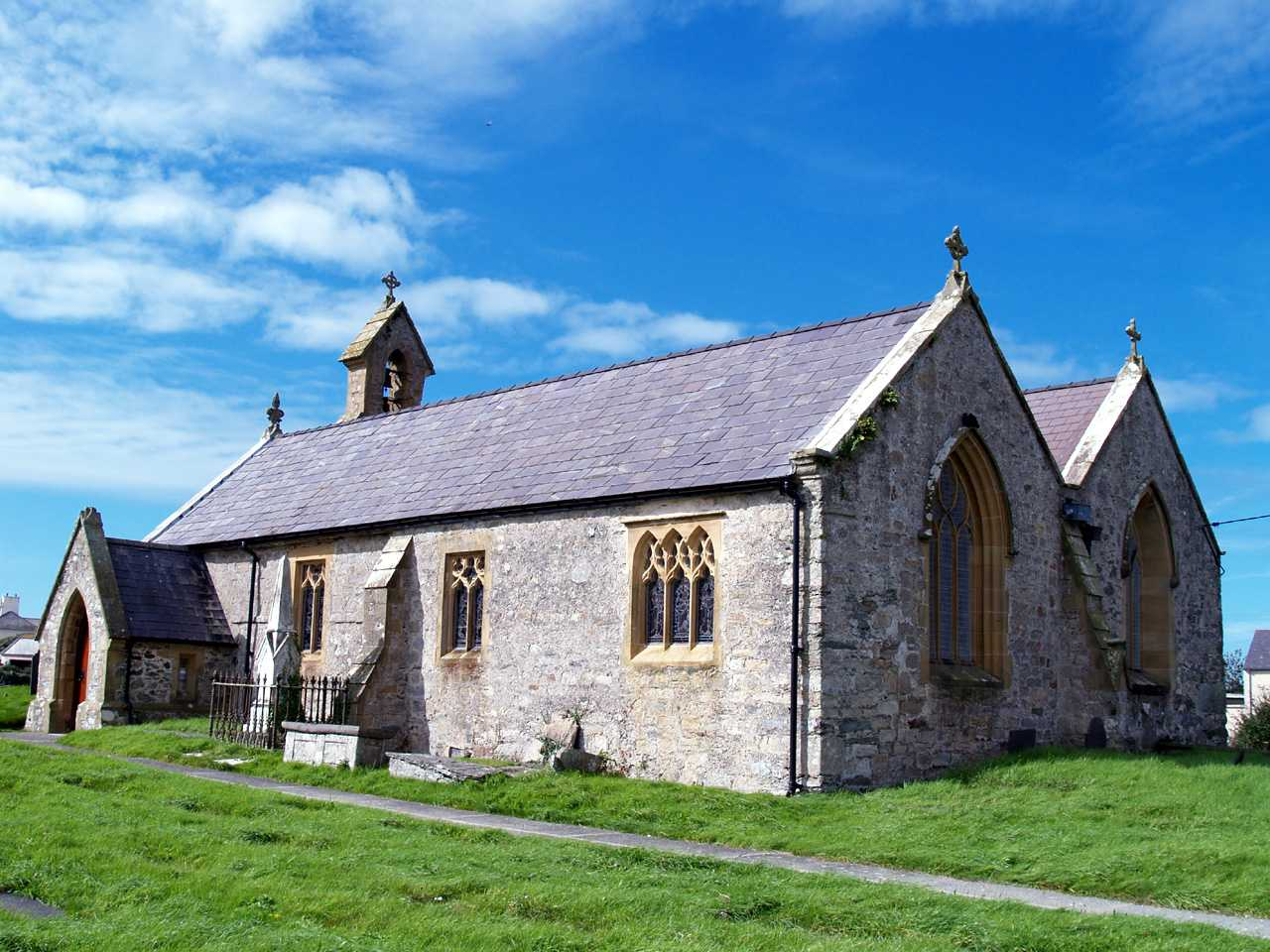 Anglesey, Aberffraw, St Beuno's Anglican Church