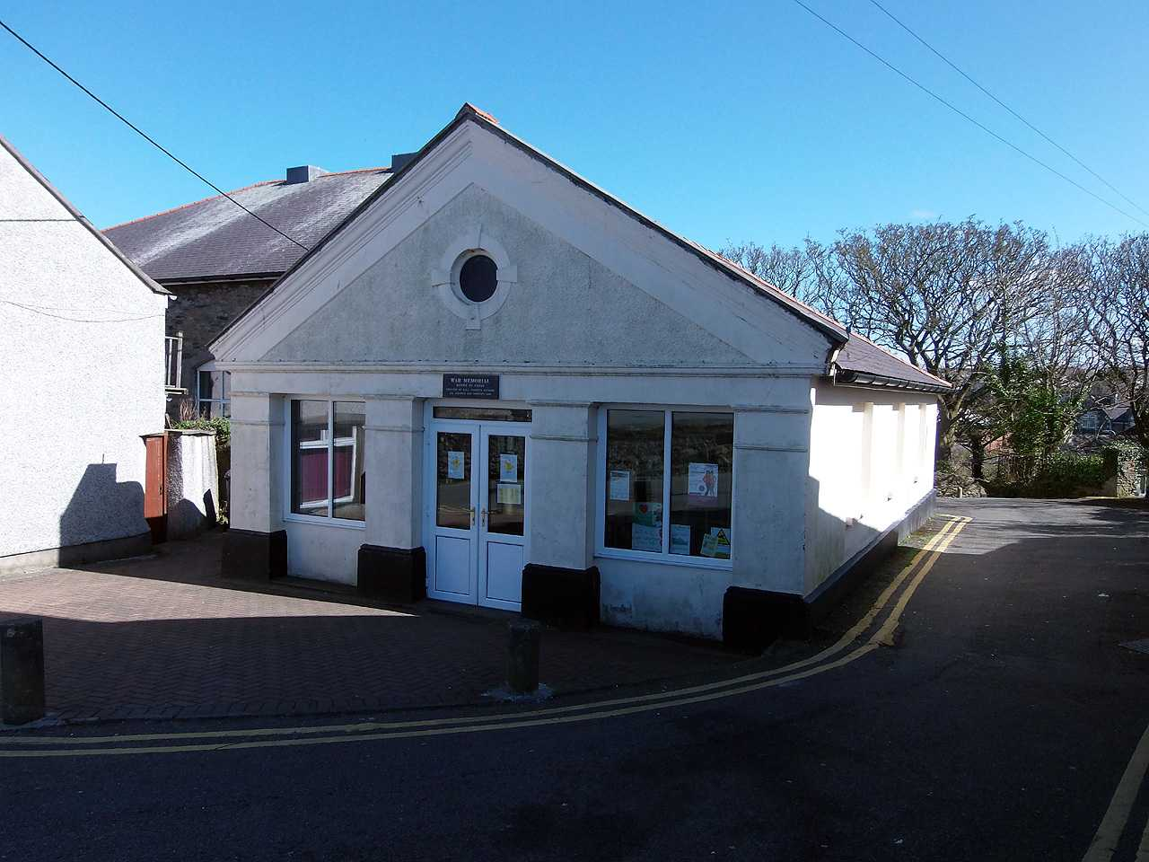 Anglesey, Amlwch War Memorial Hall