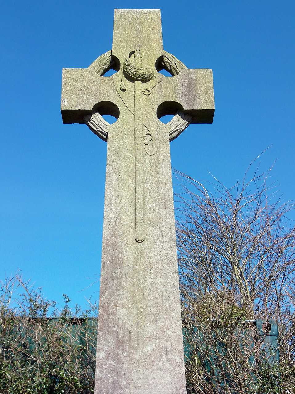 Anglesey, Bryngwran War Memorial Cross