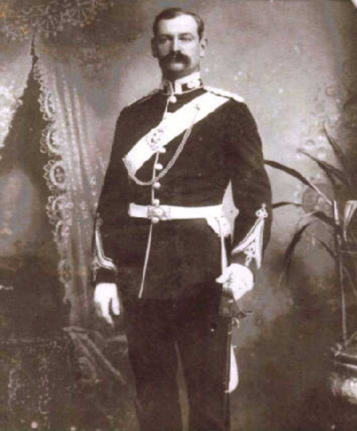 William Fox Russell in Uniform